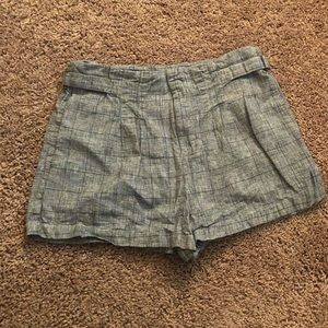 Cute Heather Grey Shorts Large by Forever 21